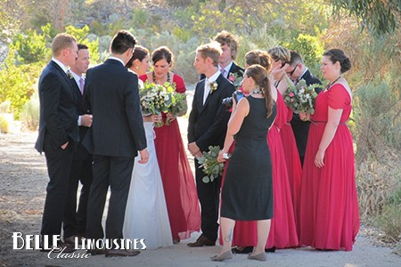 perth wedding limo