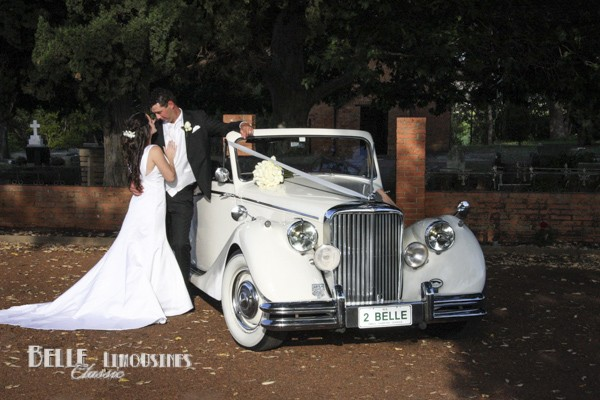convertible wedding car hire