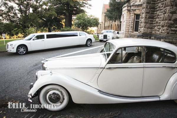 chrysler wedding limousines