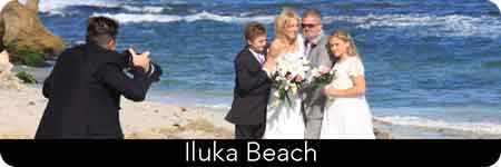 beachside ceremony location