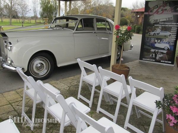 rolls royce bridal car