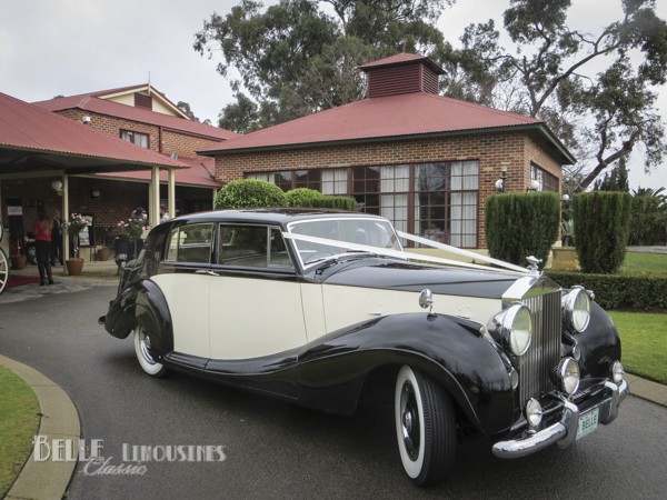 rolls royce wedding transport