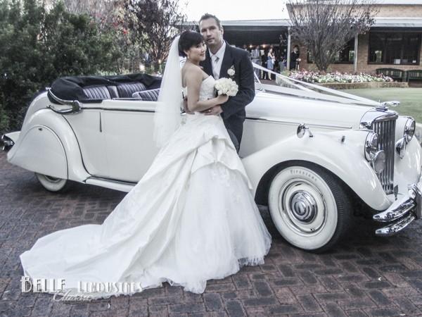 luxury bridal cars