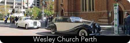 luxury wedding cars in perth