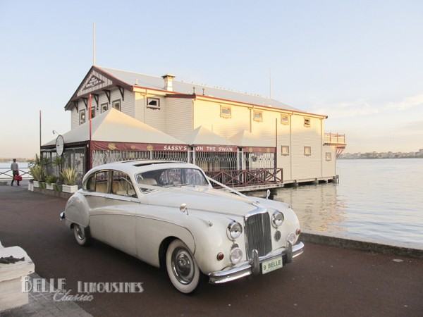 jaguar mk9 wedding car