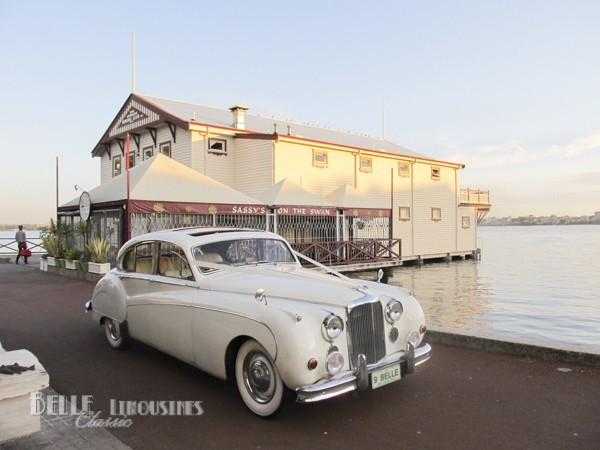 jaguar mk9 wedding car