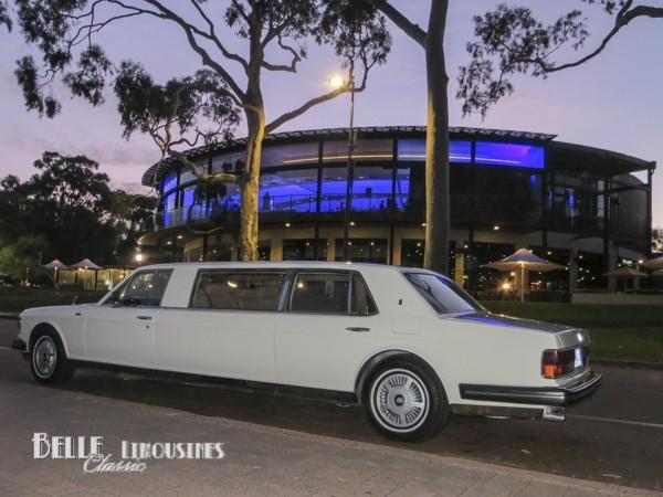 rolls royce limousines
