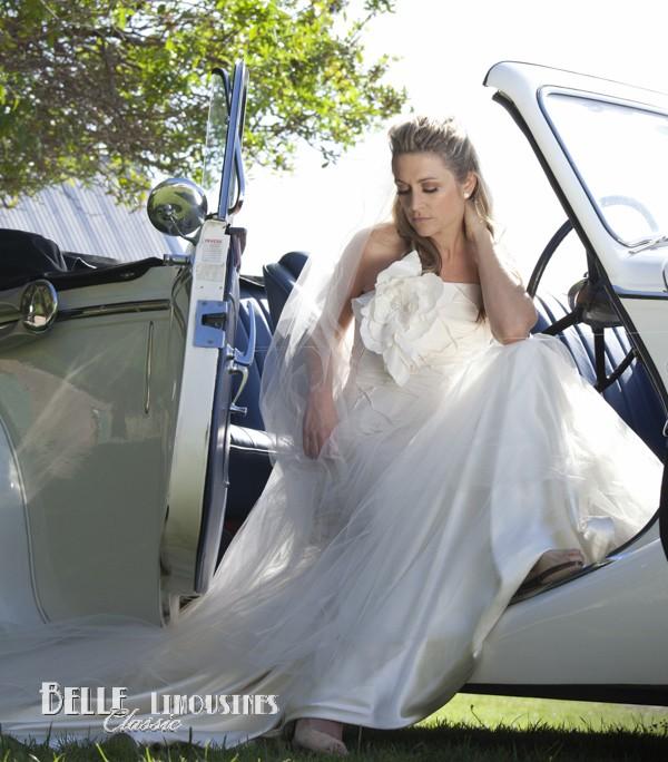 convertible wedding cars