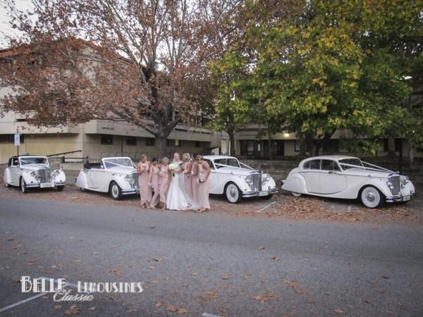 classic wedding cars at uwa