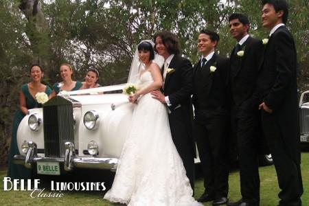 rolls royce wedding limos