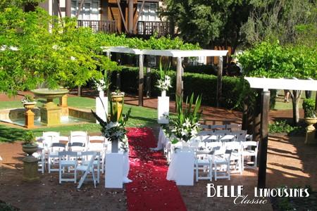 swan valley wedding limos