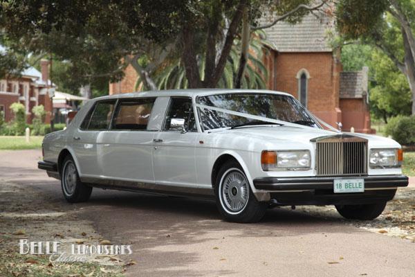 rolls royce stretch limo