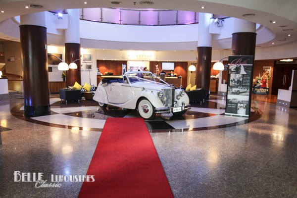 jaguar mk5 convertible wedding car