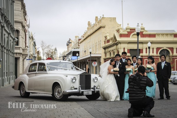 luxury bridal transport