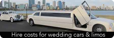 cost of hiring wedding cars