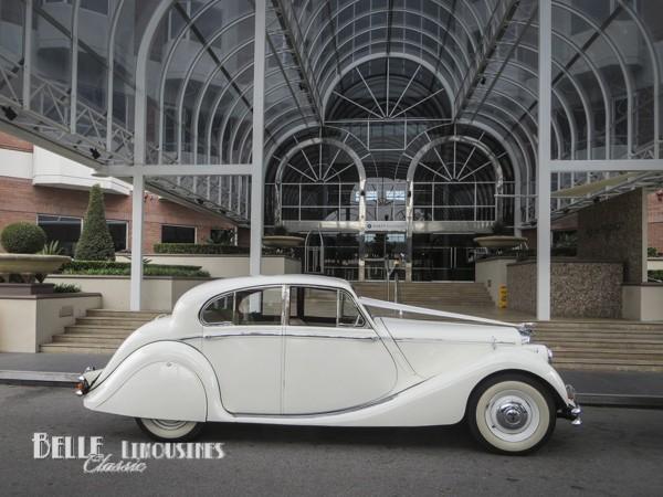 jaguar wedding cars