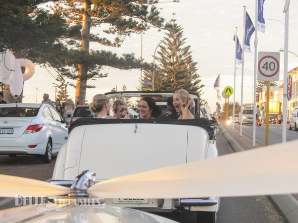 convertible wedding cars