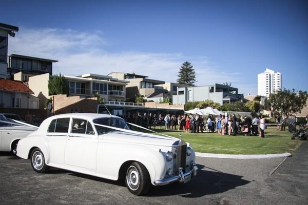 luxury rolls royce bridal car