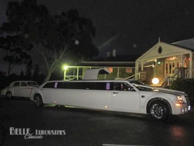 chrysler wedding limousines