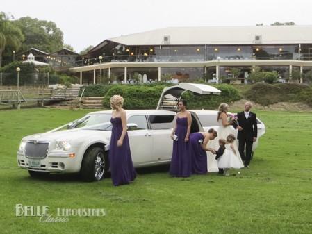 limousine wedding hire