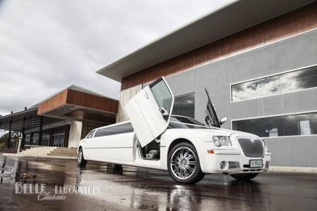 The Chrysler limousine 10BELLE at Mandoon Estate