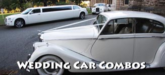 wedding car hire combinations