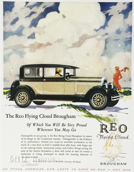 reo flying cloud