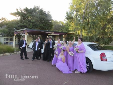 chrysler wedding limos