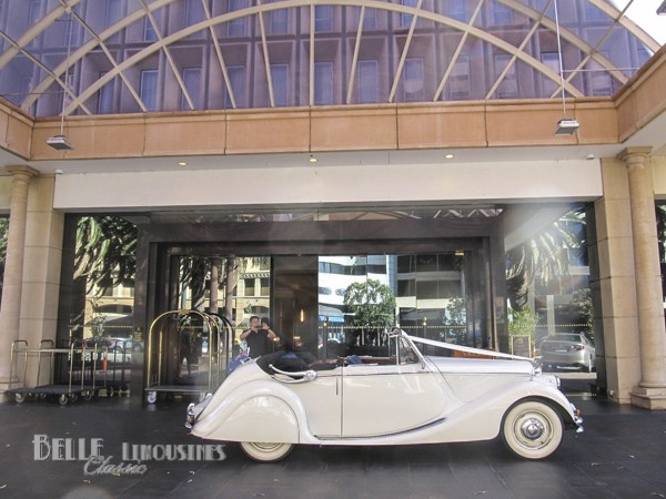 jaguar mk5 bridal car