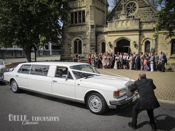 rolls royce wedding limos