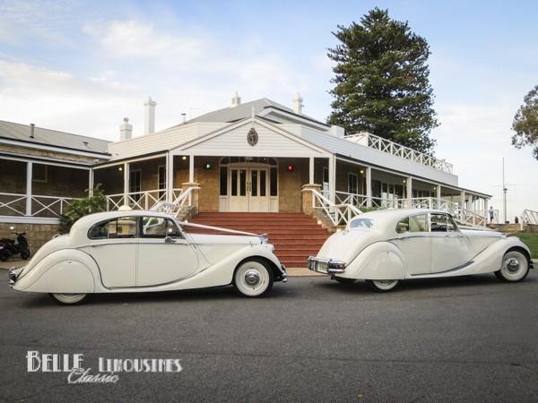 beautiful wedding car hire