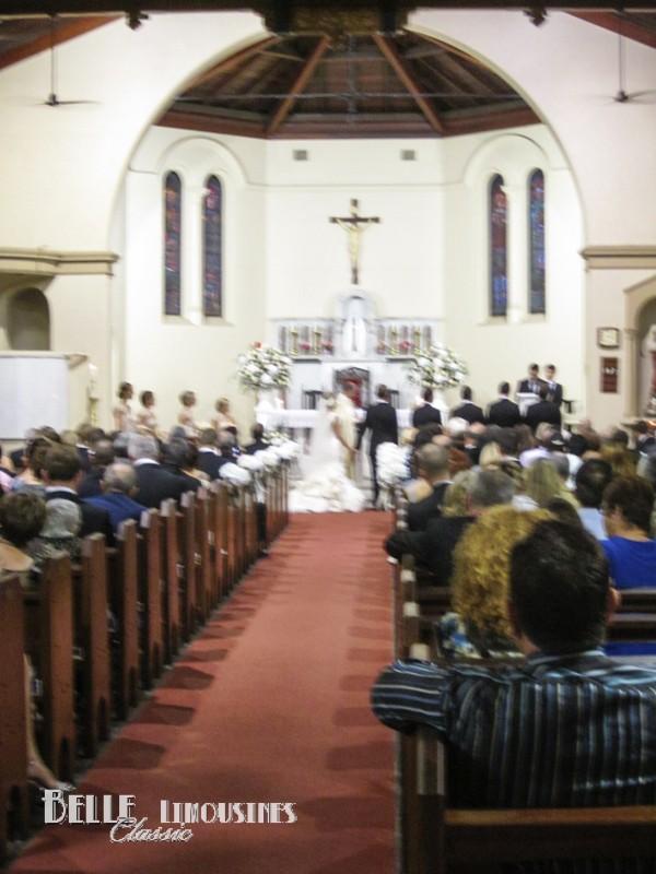 st columbas church interior