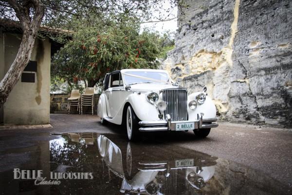 jaguar mk5 wedding car