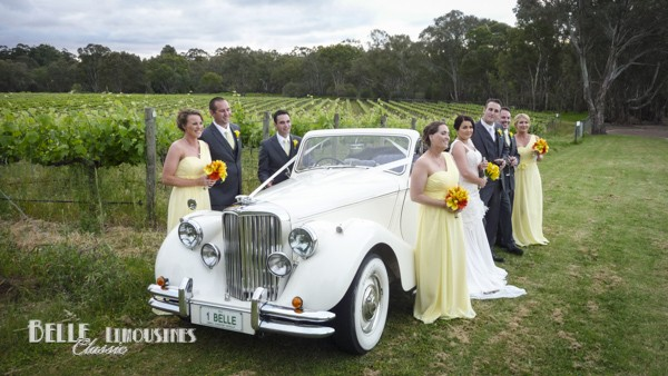 Wedding Car And Limo Hire Perth Belle Clic Cars