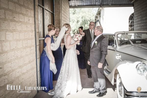 jaguar convertible wedding car