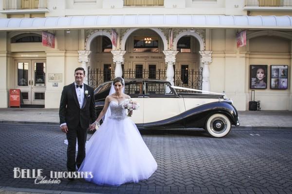 classic bridal car hire