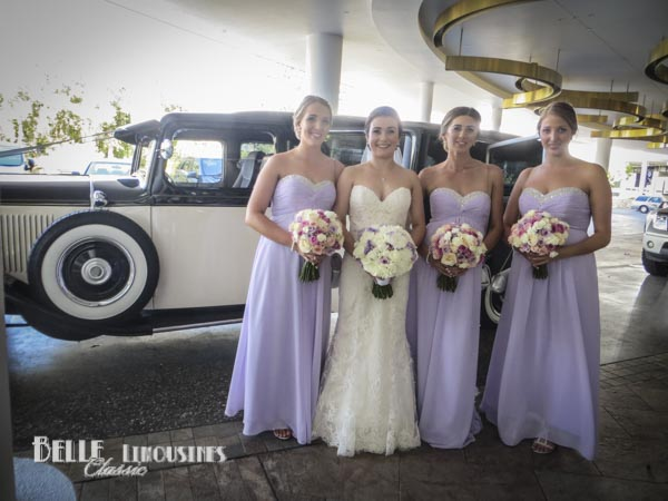 wedding party limo