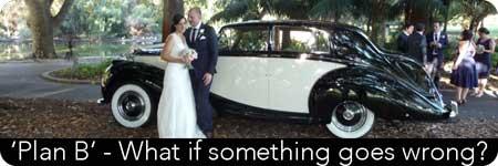 planning your wedding transport