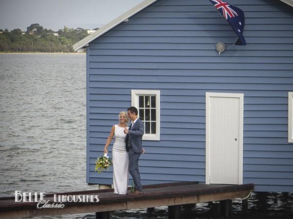 blue boatshed photos