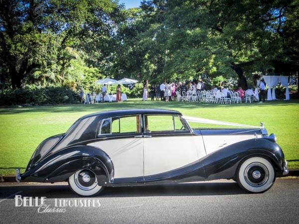 The Rolls Royce Wraith at Harold Boas Gardens