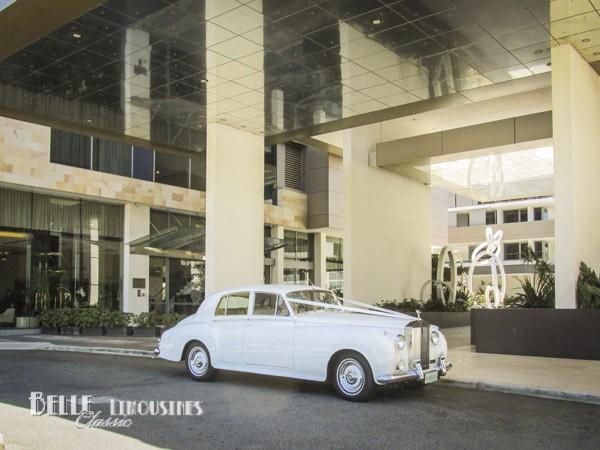classic bridal car