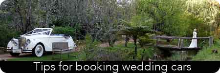 book wedding cars